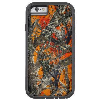 Heavy Orange Camo Tough Xtreme iPhone 6 Case