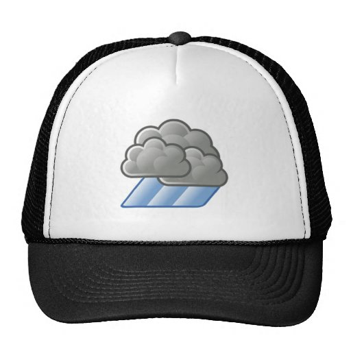 Heavy Rain Clouds Mesh Hat