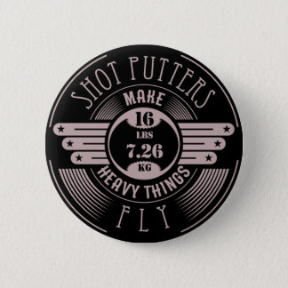 heavy things that fly 2 6 cm round badge