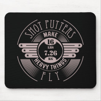 heavy things that fly 2 mouse pad