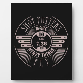 heavy things that fly 2 plaque
