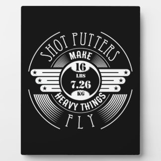 heavy things that fly plaque
