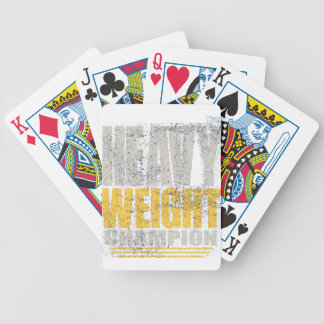 Heavy weight bicycle playing cards
