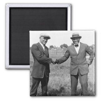 Heavyweight Boxers, 1922 Square Magnet