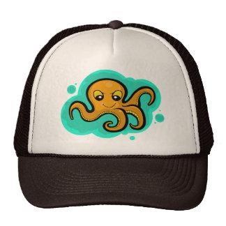 Heba the Octopus Character Trucker Hats