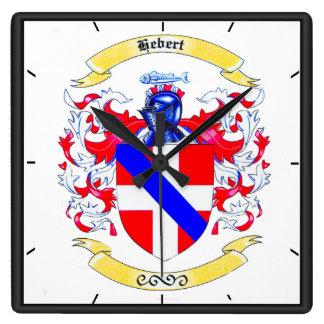 Hébert Family Crest Heirloom Clock
