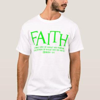 Hebrew 11:1, green2 T-Shirt