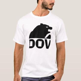 Hebrew Bear (Dov) Black T-Shirt