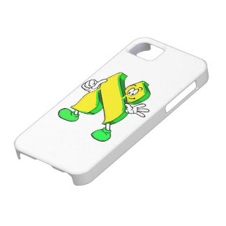 Hebrew Cartoon Aleph Character iPhone 5/5S Covers