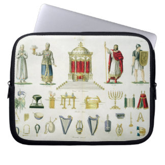 Hebrew Levi Priest King and Soldier with Sacred Computer Sleeve