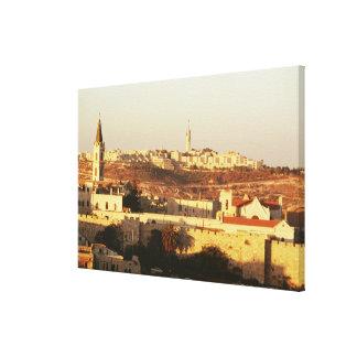 Hebrew University, Jerusalem Stretched Canvas Print