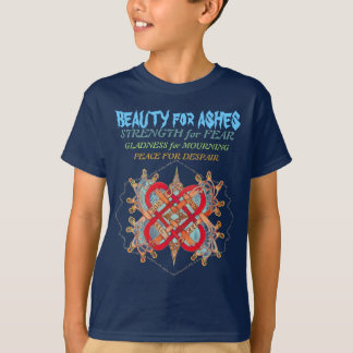 Hebrew words for love artist, hidden mountain T-Shirt