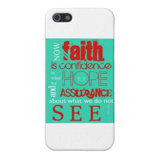 Hebrews 11:1 iPhone 5/5S case