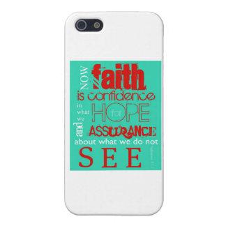 Hebrews 11:1 iPhone 5 case