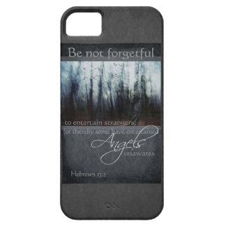 Hebrews 13:2 Angel Quote iPhone 5 Case