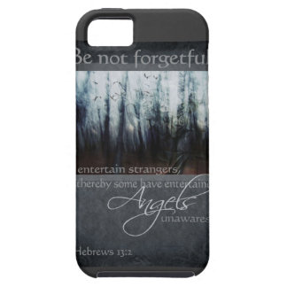 Hebrews 13:2 Angel Quote iPhone 5 Cover