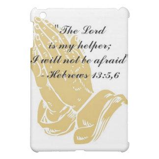Hebrews 13:5,6 iPad Skin iPad Mini Covers