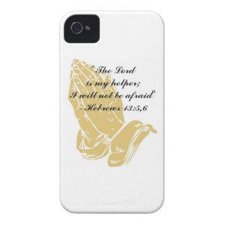 Hebrews 13:5,6 iPhone 4/4S Skin iPhone 4 Case