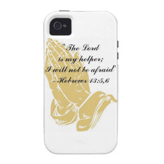Hebrews 13:5,6 iPhone 4 Shell iPhone 4/4S Covers