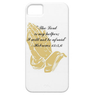 Hebrews 13:5,6 iPhone 5 Skin iPhone 5 Covers