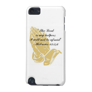 Hebrews 13:5,6 iPod Touch Skin iPod Touch 5G Cover