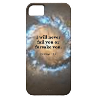 Hebrews 13:5 iPhone 5 cover