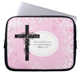 Hebrews 13:5 Laptop or Netbook Carrier Sleeve
