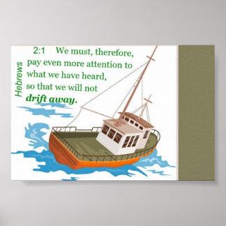 Hebrews 2:1 poster