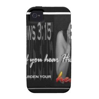 Hebrews 3:15 Case-Mate iPhone 4 cases