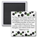 Hebrews 4:12 magnet