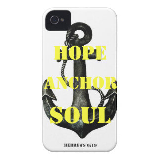 Hebrews 6:19 iPhone 4 Case-Mate case