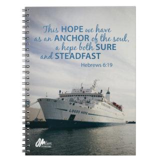 Hebrews 6:19 Notebook
