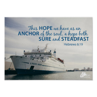 Hebrews 6:19 Poster