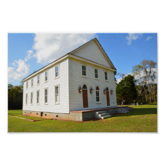 Hebron Church, Johns Island, South Carolina Poster