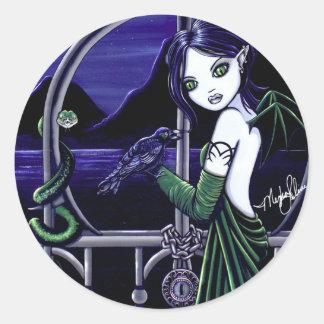 Hecate Goddes Underworld Fairy Stickers