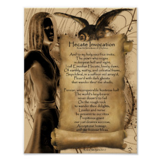 HECATE INVOCATION POSTER