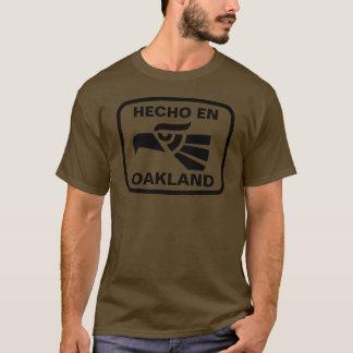 Hecho en Oakland personalizado custom personalized T-Shirt