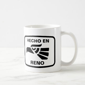 Hecho en Reno personalizado custom personalized Coffee Mug