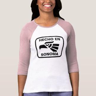 Hecho en Sonoma personalizado custom personalized T-Shirt