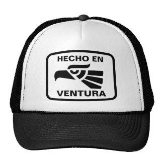 Hecho en Ventura personalizado custom personalized Mesh Hats