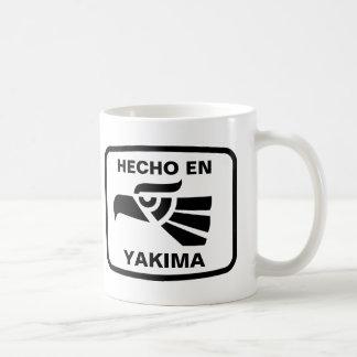 Hecho en Yakima  personalizado custom personalized Coffee Mugs