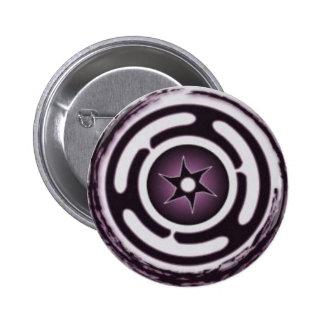 Heckate's Wheel 6 Cm Round Badge