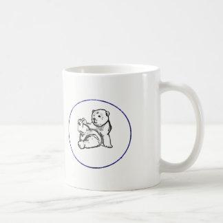 Hector the Bear logo mug
