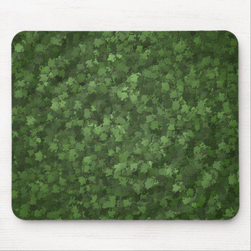 Hedge Leaf Camo Mousepad