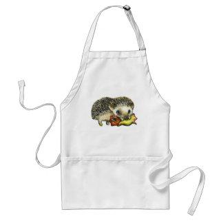 Hedgehog-and-apple-apron Standard Apron