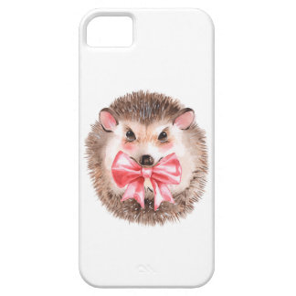Hedgehog and bow iPhone 5 covers