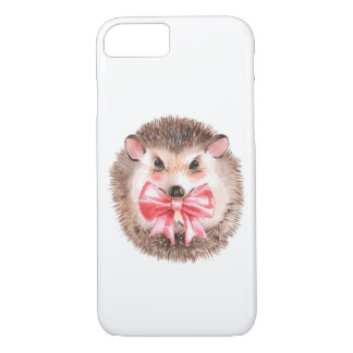 Hedgehog and bow iPhone 8/7 case