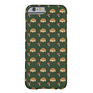 Hedgehog and Mushroom iPhone Case