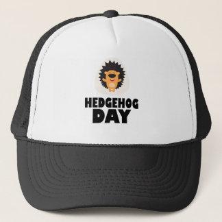 Hedgehog Day - Appreciation Day Trucker Hat