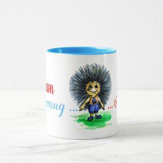 Hedgehog dreams of a girlfriend mug